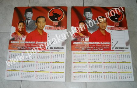 Kalender Poster PDIP