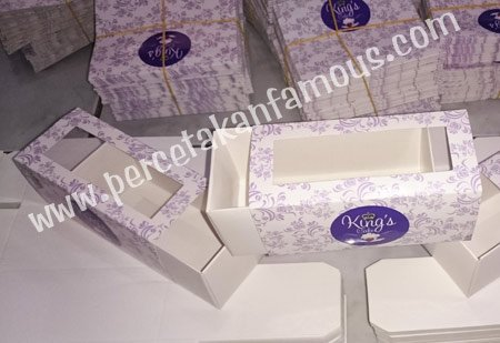 cetak packaging Kings