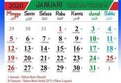 Tiga Jenis Kalender Yang Digunakan Masyarakat Indonesia